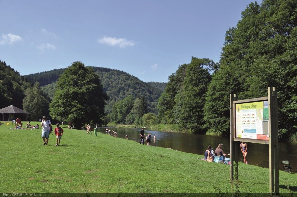 de Ourthe in Maboge - © FTLB-PWillems